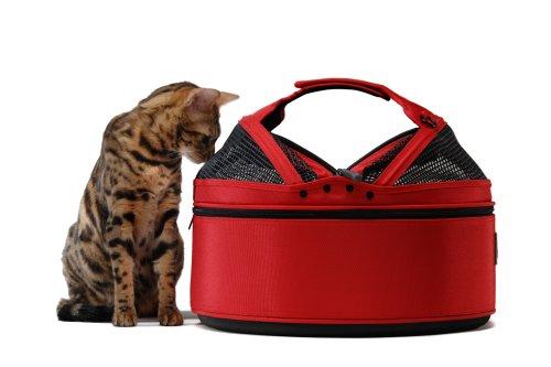 Sleepypod Medium Mobile Pet Bed, Strawberry Red
