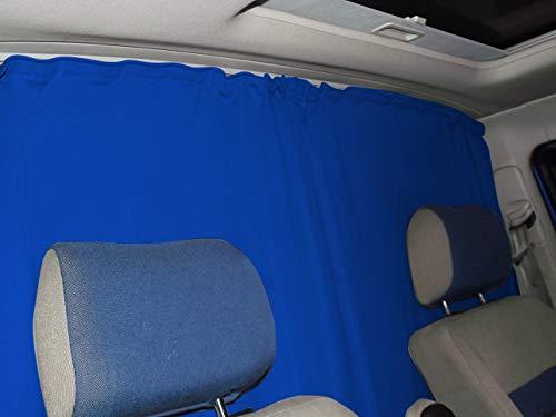 Fundas de asiento Bremer para cabina del conductor, cortinas, compatible con Mercedes Sprinter W904 W905 a partir de FB:Azul