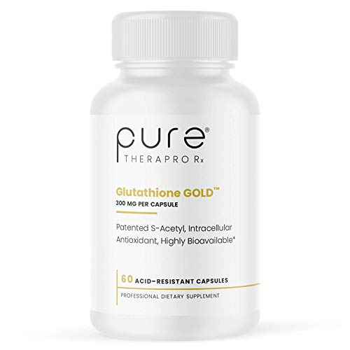 """S-Acetyl Glutathione Gold 300mg PER Capsule - 60 DRcaps """"Acid-Resistant"""" 