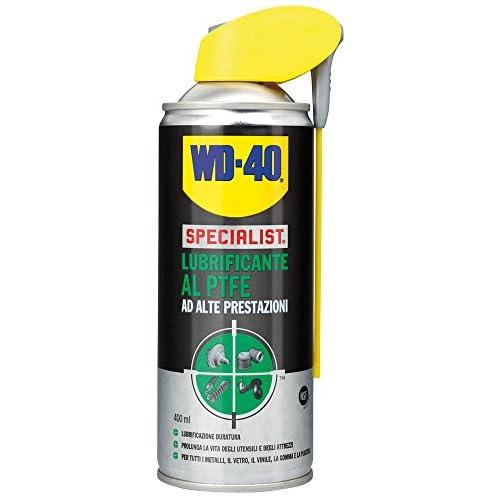 WD-40 Specialist Lubrificante, Alte Prestazioni al PTFE, 400 Ml