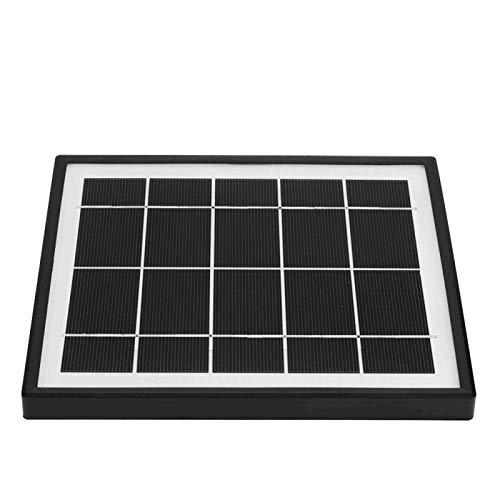 SALUTUYA Cargador Solar de energía USB Cargador Solar USB Cargador de batería de Panel Solar de silicio monocristalino Cargador de energía de Panel Solar monocristalino Portátil para teléfono Celular