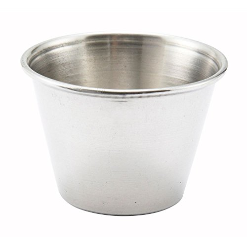 Stainless Steel 2.5 Oz. Sauce Cup (Pack of 12)