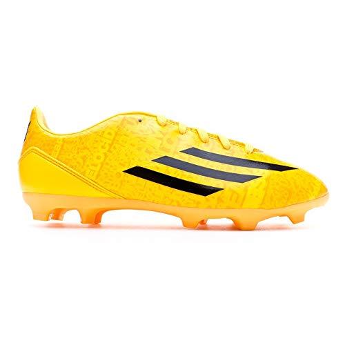 adidas Jr F10 TRX FG Messi, Scarpe da Calcio, Solar Gold-Nera, Taglia 3.5 UK (36 EU)