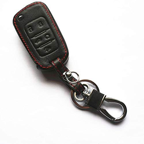 QWSNED Cubierta de la llave del coche, cuero inteligente llavero protector,Protector de llave de control remoto, Para Mercedes-Benz Clase E W213 2018