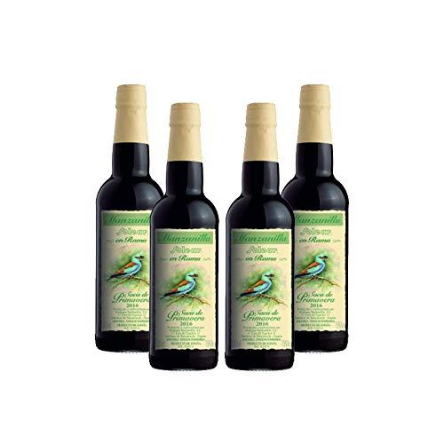 Kamille Wein Solear en Rama von 37,5 cl - D.O. Manzanilla Sanlucar de Barrameda - Bodegas Barbadillo (4 Flaschen)