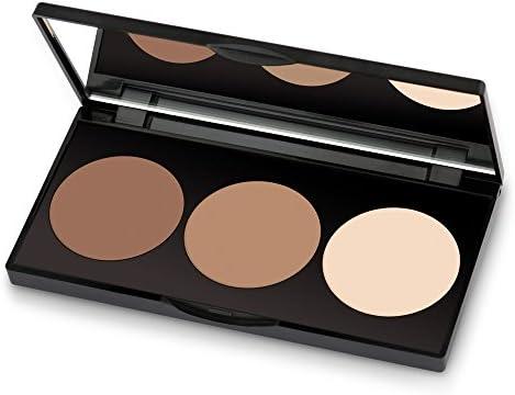 Golden Rose Long Lasting Matte Powder Contour Kit Highlight Bronze Contour Set Makeup Palette product image