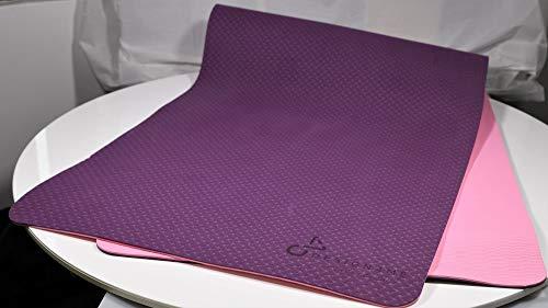 DESIGN4ME Yogamatte, TPE 6 mm,...