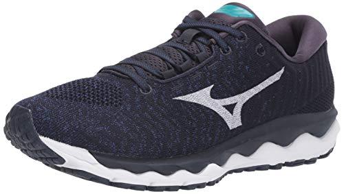 Mizuno Men's Wave Sky Waveknit 3 Running Shoe, True Blue-Nimbus Cloud,...