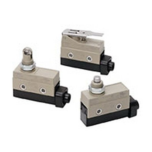 Omron ZC-Q2155 Minature Enclosed Limit Switch, Panel Mount Cross Roller Plunger