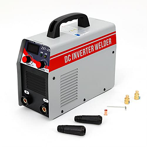 Futchoy ZX7-250 250 A MMA - Máquina de soldadura (220 V, CC, ARC IGBT, para electrodos de 4,0/3,2 mm), color blanco y rojo