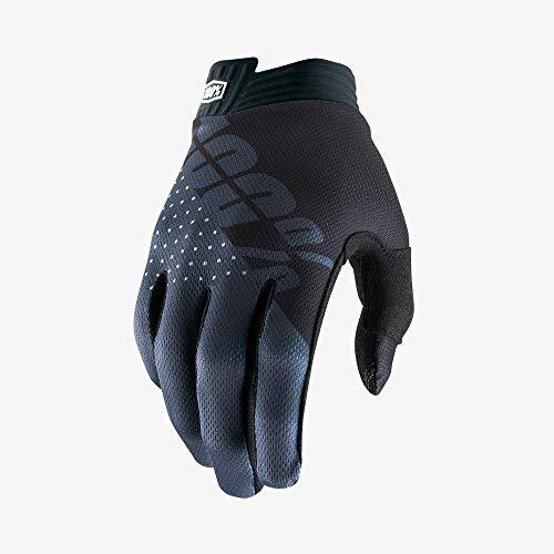 100% iTrack Herren-Handschuhe, Schwarz/Anthrazit, Größe XL