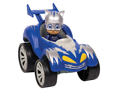 PJ Masks - Vehículo turbo Gatuno Power Racers (Bandai 95386)