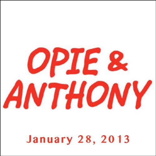Opie & Anthony, Joe DeRosa, January 28, 2013 audiobook cover art