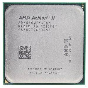 AMD Athlon II X4 640 3.0GHz 4x512KB Socket AM3 Quad-Core CPU