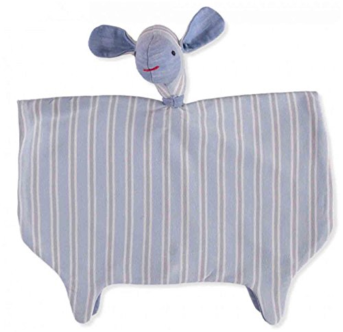 Merino Kids Organisch Knuffel Speelgoed, Groot Schaap, Lucht/Lichtgrijs SW Stripe