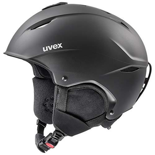 uvex Unisex- Erwachsene, magnum Skihelm, black mat, 61-65 cm