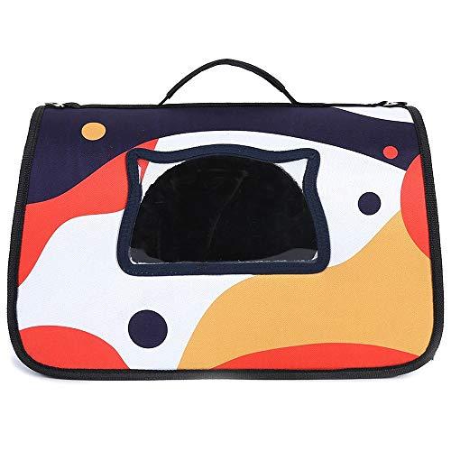 XDRE Transporttasche für Katzen Hunde Tragbare Haustierkatze Rucksack Tasche Träger Atmungsaktive Welpen Katzen Tasche Outdoor Reise Träger Pet Transport Tragen Handtasche Für Katzen Tasche Haustier