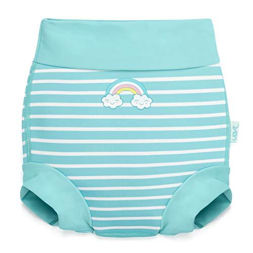 Urban Beach Unisex Baby GA0486 Schwimmwindel, hellblau, M (3-6 Months/6-11kg)