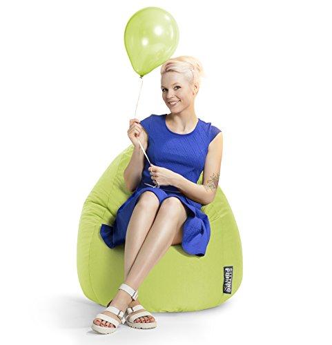 SITTING POINT only by MAGMA Sitzsack Easy XL ca. 220 Liter grün