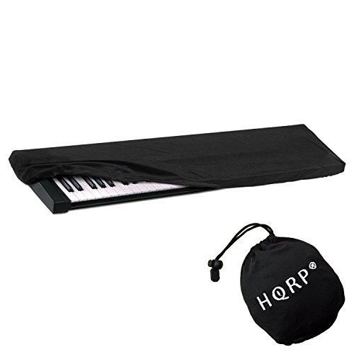 HQRP Funda antipolvo, cubierta para Yamaha teclado de 61-76-teclas NP-V80 / NPV80 / PSR-E403 / PSRE403 / PSR-E353 / PSRE353 / PSR-E253 / PSRE253 / PSR-E443 / PSRE443 sintetizador