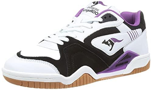 KangaROOS Unisex Ultralite 2 Sneakers, White/Purple, 47 EU