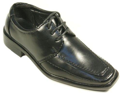 Festliche Kinderschuhe Schnürschuhe schwarz für Jungen Gr.30