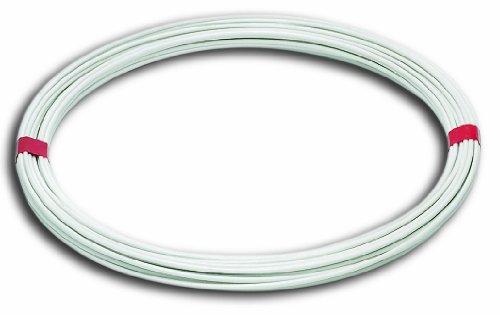 Chapuis FIL20 Fil à linge acier plastifie Diamètre extérieur 2,7 mm L 20 m Blanc