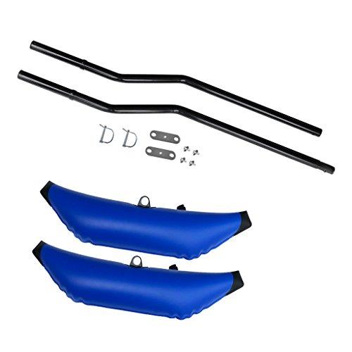 1 Establecer los montajes de repuesto del estabilizador estabilizador brinda estabilidad adicional a cualquier embarcación, lo hace sentir seguro y protegido Diseño inflable, fácil de inflar para inflar. Altura de flotación ajustable con giro simple ...