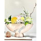 【カーネーション】誕生日のプレゼント 女性 人気 はんなり和花のアレンジメント Anzue 台座付き プリザーブドフラワー