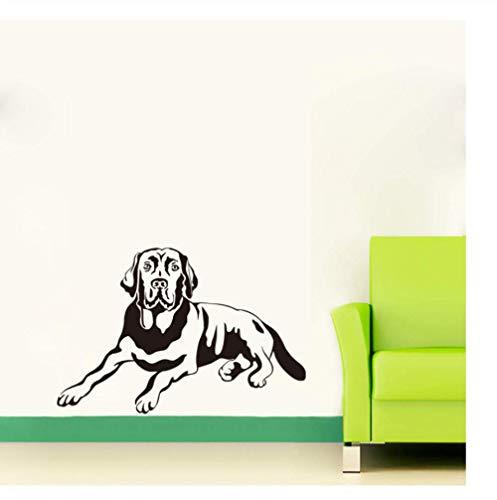 Schattenhund lustige Wandtattoo Kinderzimmer Tapete abnehmbare Schlafzimmer Aufkleber Wohnzimmer Aufkleber Home Decoration