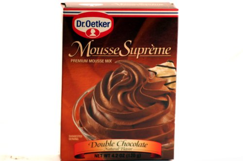 Dr. Oetker Double Chocolate Supreme Mousse (12x4.2 OZ)