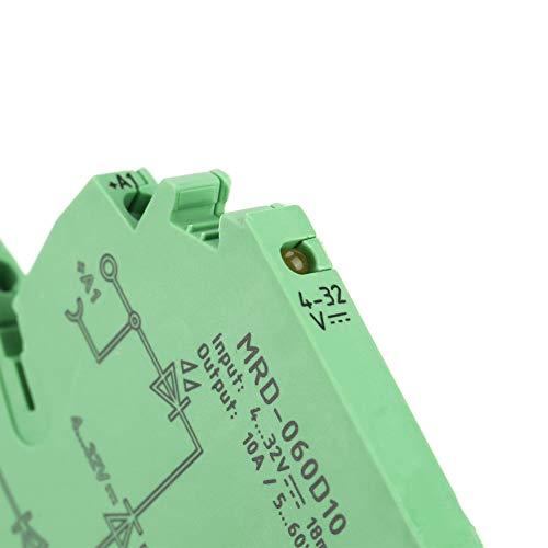 MRD-060D10 DC PLC Relay Ultra-Thin Power Amplifier Módulo de relé de estado sólido Módulo de relé para la producción de la industria