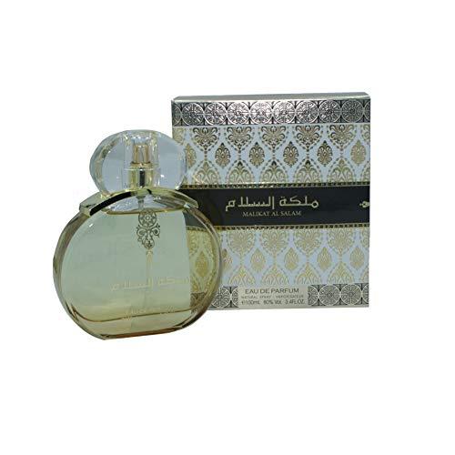 MALIKAT AL SALAM parfum 100ML Gemengd parfum Oosterse Arabische Eau de Parfum, Een parfum van hoge kwaliteit met uitzonderlijke zuiverheid
