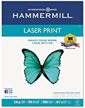 product image for Laser Print Office Paper, 98 Brightness, 24lb, 8-1/2 x 11, White, 500 Sheets/Rm, Total 10 RM, Sold as 1 Carton