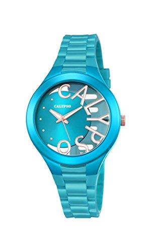 Calypso Reloj Análogo clásico para Mujer de Cuarzo con Correa en Plástico K5678/4