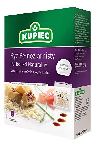 Kupiec Natürlicher Vollkorn-Parboild Reis 400g