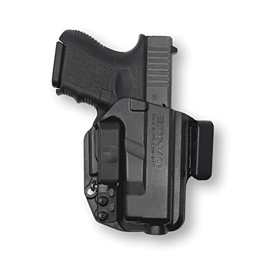 Holster for Glock 26 27 33 (Gen 1-5) - IWB Holster for Concealed Carry / Custom fit to Your Gun - Bravo Concealment