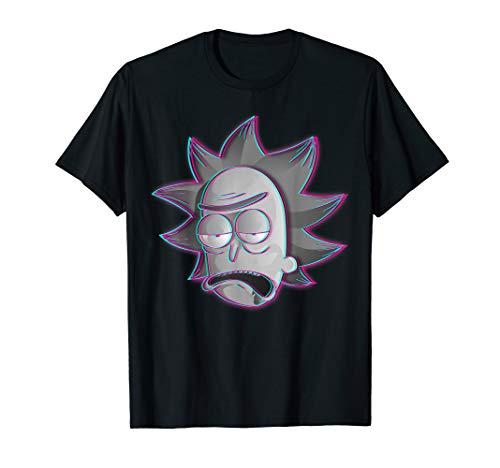Rick and Morty Shirt Rick illusion T-Shirt T-Shirt