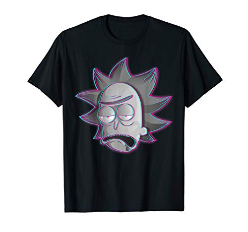 Mademark x Rick and Morty - Rick and Morty Shirt Rick illusion T-Shirt T-Shirt