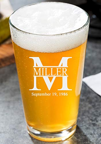 personalized beer glasses - 3