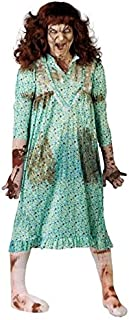 New Mens Ladies Possessed Girl Child Exorcist Halloween Fancy Dress Costume Outfit
