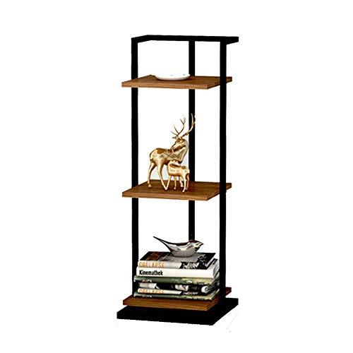 Home&Selected Furniture 3 niveaus, bibliotheek, bloembak, hoekplank, tafel, bijzettafel, nachtkastje, 30 x 30 x 84 cm (kleur: D) B