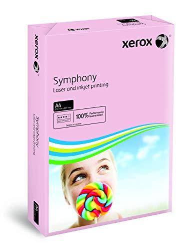 Xerox 003R93970 gekleurd printpapier kopieerpapier Symphony pastel DIN A4, 80 g/m2, 500 vellen per pak, roze
