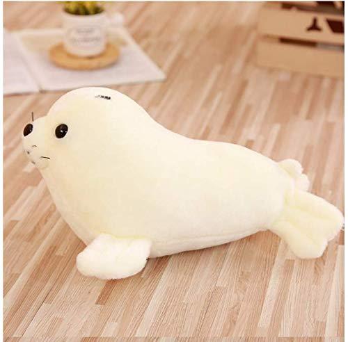 RKZM Kawaii Sea World Tier Weiß Sea Lion Dichtungen Puppe Neuheit Cartoon Spielzeug Für Kinder Kinder Mädchen Schlafsofa Dekorative 30 cm