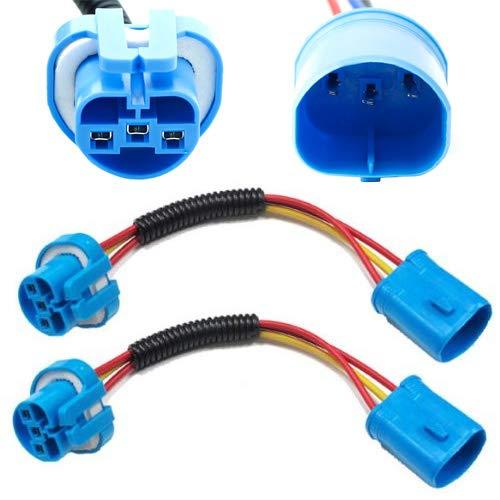 wiring diagram also headlight wiring harness on 9007 socket wiring