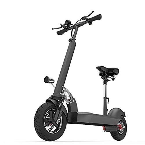 ZXMDP Elektrische step, 500 W motor, 36 V accu, maximumsnelheid 35 km/u, licht en gemakkelijk opvouwbaar met led-licht, step voor volwassenen en adolescenten