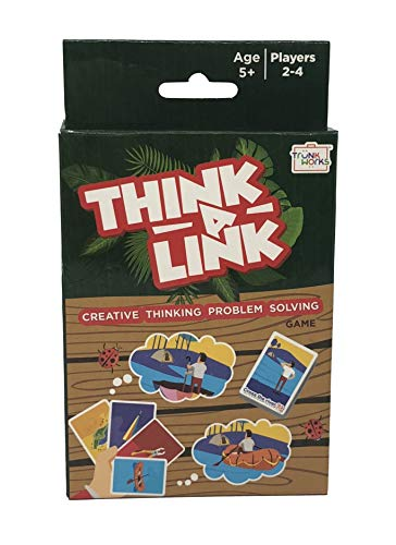 Trunk Works Think-A-Link Travel Card Game, Creative Out of The Box Thinking and Problem Solving