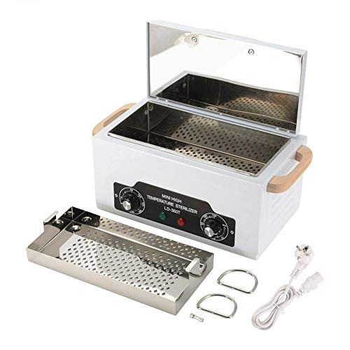 Werkzeuge Sterilisator-Kasten-Desinfektions-Kabinett 300W mini UVsterilisator der trockenen Hitze-hohen Temperatur (200 ℃) für Nagel-Werkzeug-Gesichtshaut-Schönheits-Salon-Ausrüstung(EU)