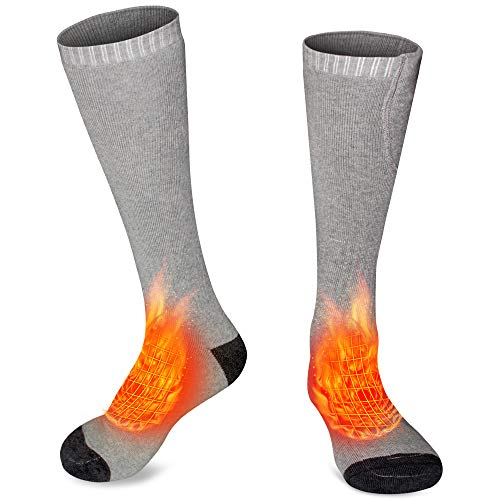 Heated Socks Rechargeable Heating Socks Battery Thermal Socks Foot Warmers