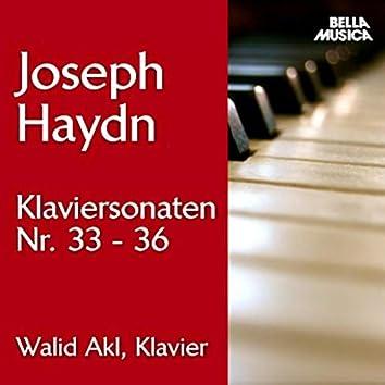 Haydn: Klaviersonaten No. 33 - 36